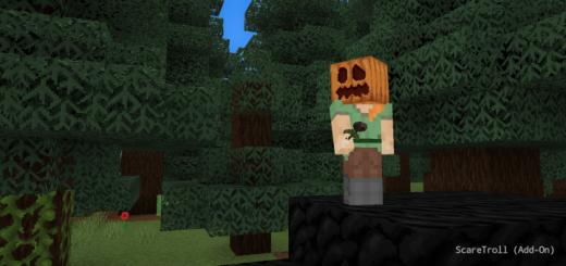 ScareTroll – Minecraft Bedrock Screamer (Add-On) [1.16+]