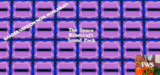 The Space Minecraft Sound Pack(NOW WITH SHADER VERSION!)