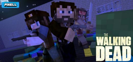 The Walking Dead Skin Pack!