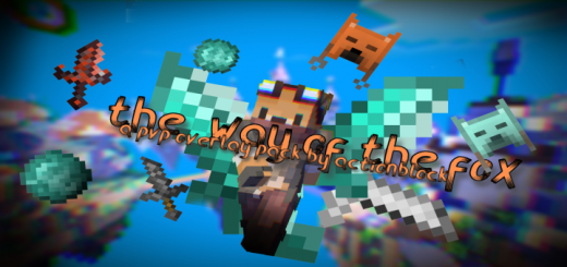 The Way of the Fox (Minecraft PvP Overlay Pack)