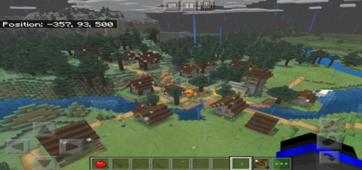 Villages, Lava Pools, Flower Forest & Cool Terrain Near Spawn (Seed)