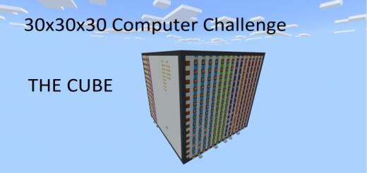 30x30x30 Redstone Computer!