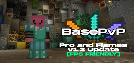 BasePvP Texture Pack v1.2 Pro and Flames Update [FPS Friendly]