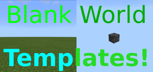 Blank World Templates