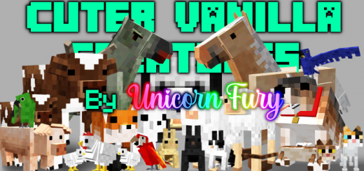 Cuter Vanilla Animals Resource Pack (Added Pandas)