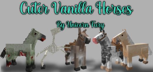 Cuter Vanilla Horses v1.0.0