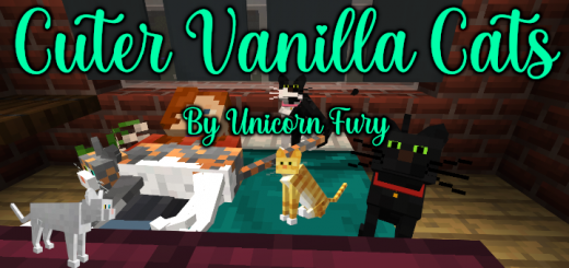 Even Cuter Vanilla Cats v2.0.0 (Thicker Legs – As Requested)