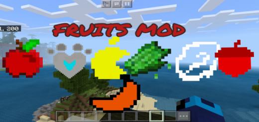 Fruits Mod (Add-on)