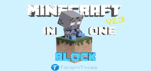 Minecraft In One Block V2.3  [Survival]