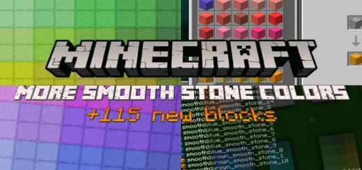 More Smooth Stone Colors (+115 New Blocks)
