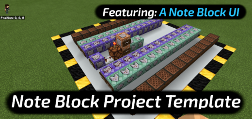 *MULTIPLAYER* Note Block UI (A Note Block Project World Template)