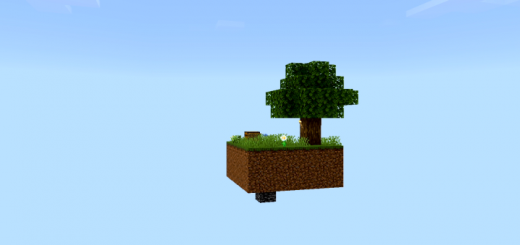 Skyblock with Structures