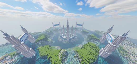 SleekCommunity: A Modern City & Building Community Server (Bedrock + Java)