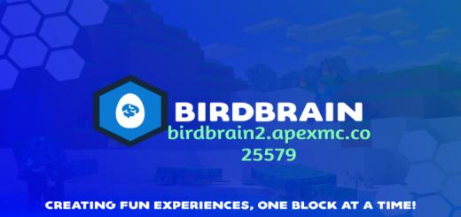 BirdBrain [Vanilla] [Survival] [Factions] [Giveaways] [Discord] [1.16.201] [Jobs] [Quests] [Minigames] [Skyblock]