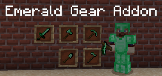 Emerald Gear Addon