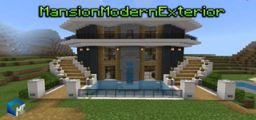 Mansión Modern Exterior (Map/Building)