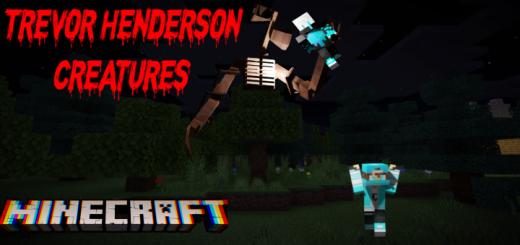 Minecraft Trevor Henderson Creatures Add-On Beta 2.1 (Halloween Update!)