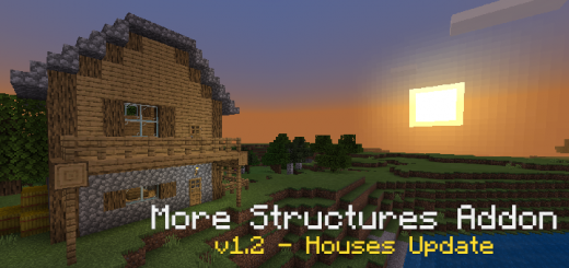 More Structures Addon v1.2 (Naturally Generating)