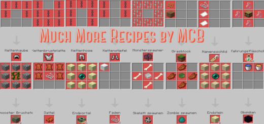 Much More Recipes Addon V1 (1.16.100+)