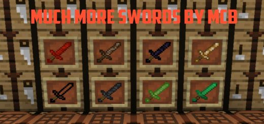 Much More Swords Addon V1 (1.16.100+)
