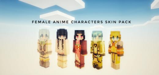 The Female Anime Characters [Skin Pack]