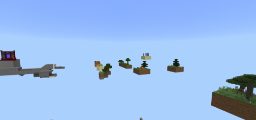 This Is Adventure Skyblock – Update Biomes