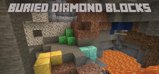 Buried Diamond Blocks Add-on