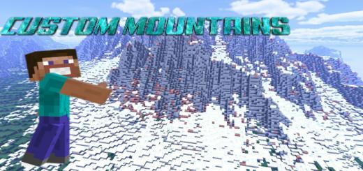 Custom Mountains Survival World (2000×2000)