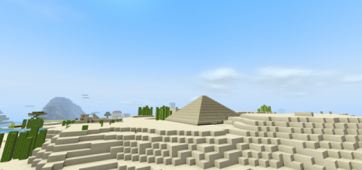 Generated Desert Structures Addon