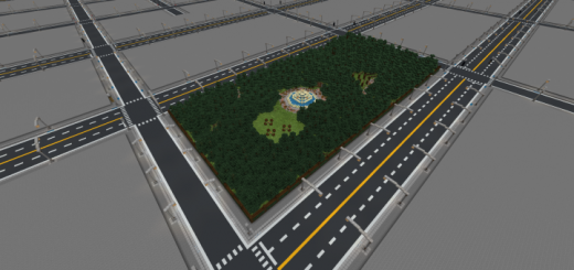 Minecraft City Template