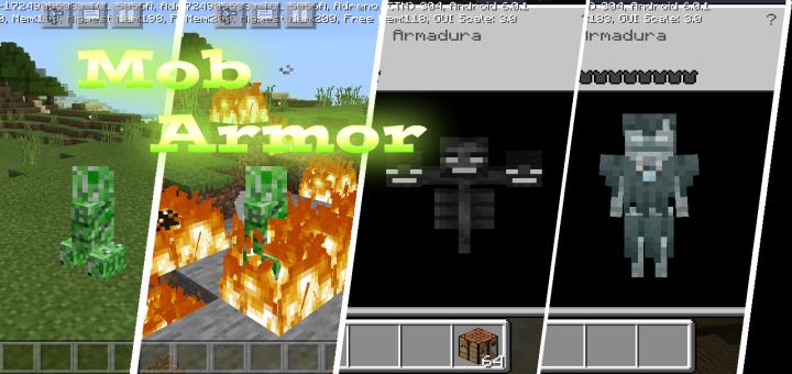 Mob Armor Addon Minecraft PE Mods Addons
