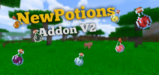 NewPotions Addon V2 (New Effects Update)