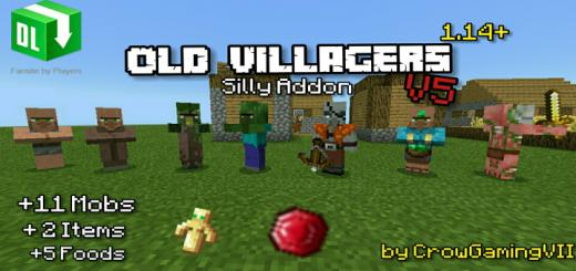 Old Villagers Addon V5 – Random Update
