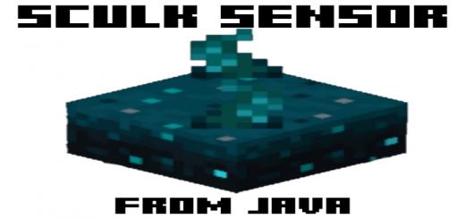 Sculk Sensor from Java Edition