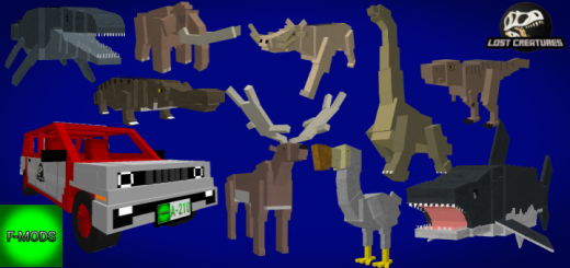 Lost Creatures Addon