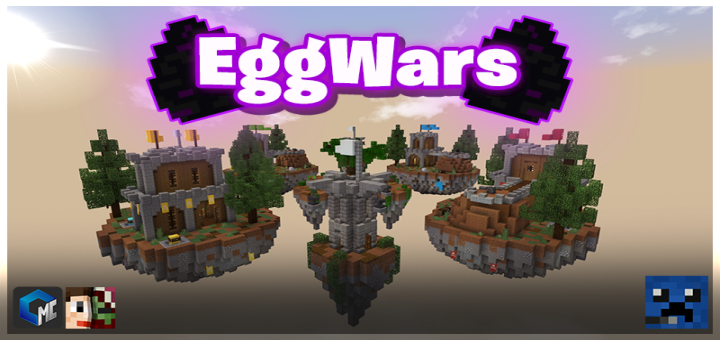 EggWars (Minigame/PvP) Minecraft PE Maps