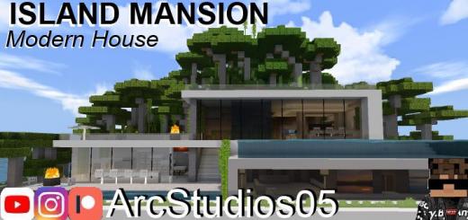 Island Mansion – Modern House – Secret Bunker!