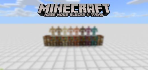 More Wood Blocks & Items